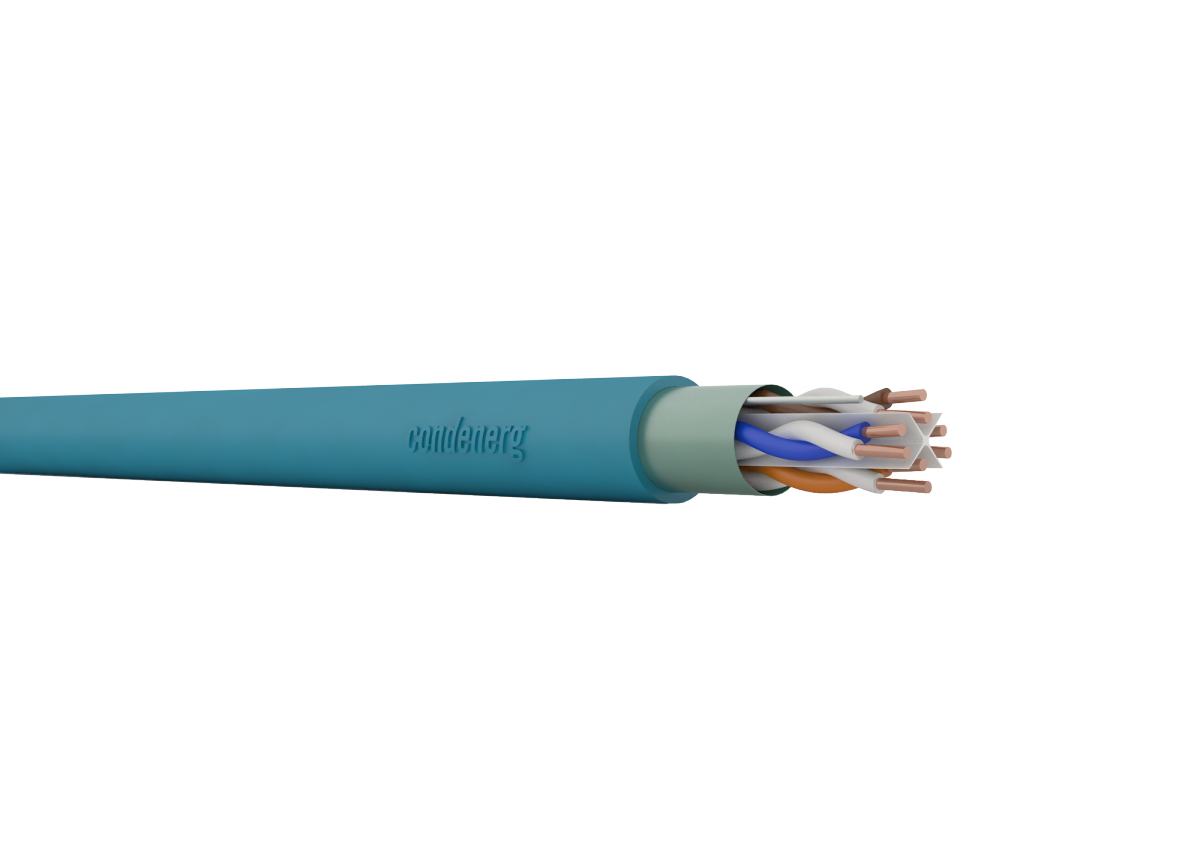 CONDEFLEX Cat6 F/UTP 4x2xAWG23 350 MHz LSZH Cca