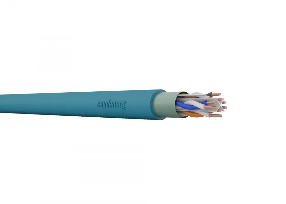 CONDEFLEX Cat6 F/UTP 4x2xAWG23 350 MHz LSZH Dca